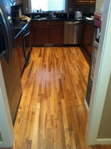 Kitchen with Wood Flooring in Salem, OR